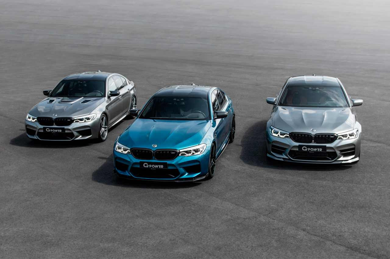 G-Power сделал экстрим-тюнинг BMW M5 на €115 000 | фото