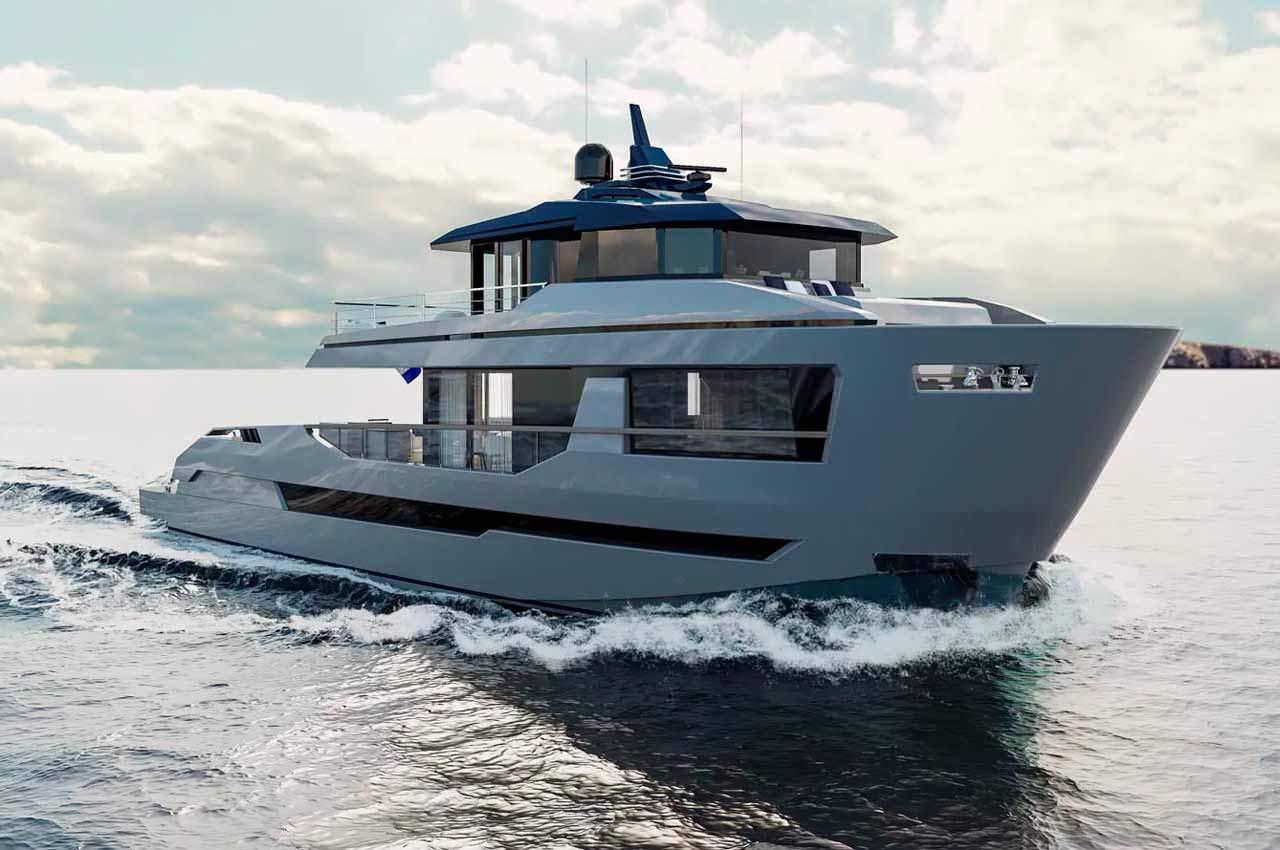 Orion — новая яхта-кроссовер от Lynx Yachts | фото