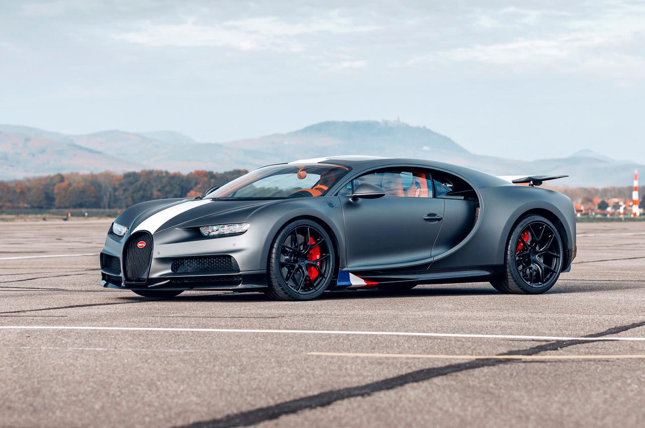 Вышла спецверсия Bugatti Chiron Sport Les Legendes Du Ciel
