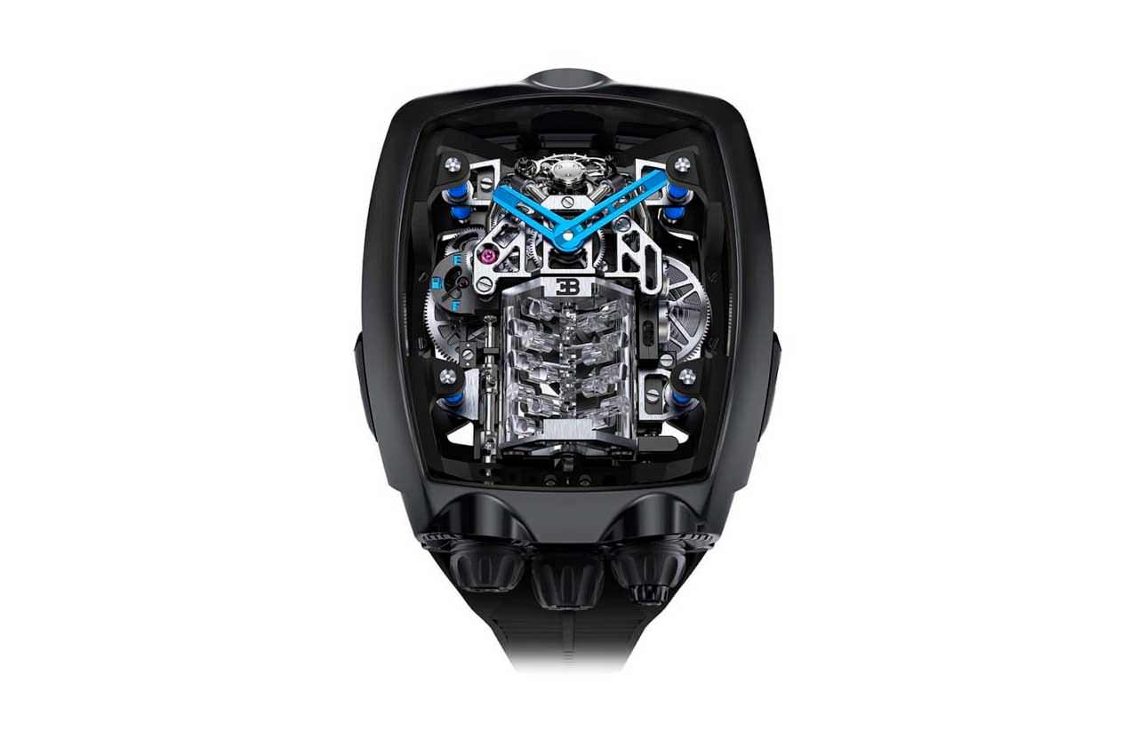 Jacob & Co. и Bugatti сделали часы для владельцев Chiron