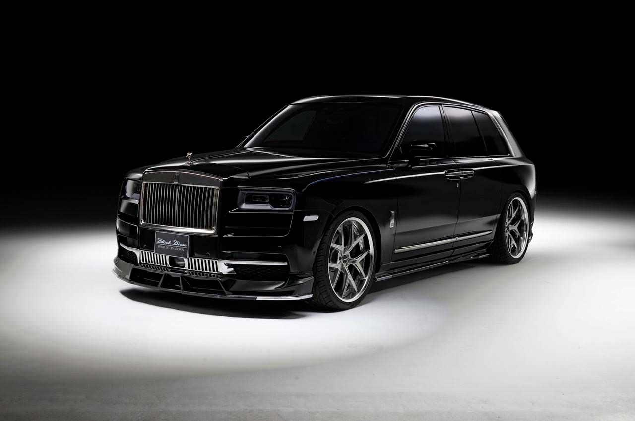 WALD сделал фирменный обвес кузова Rolls-Royce Cullinan | фото