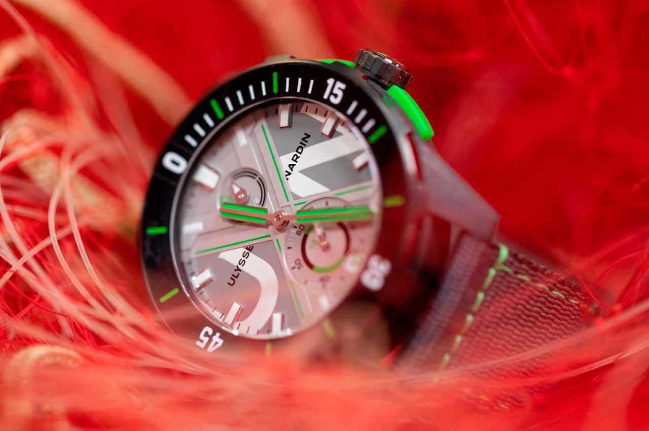 Ulysse Nardin сделал часы из переработанного океанского пластика