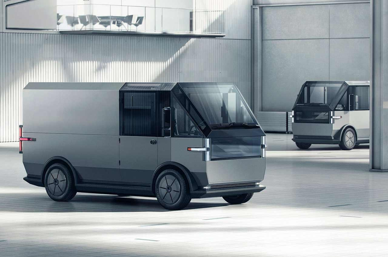 Canoo выкатила электро-фургон MPDV в стиле Cybertruck | фото