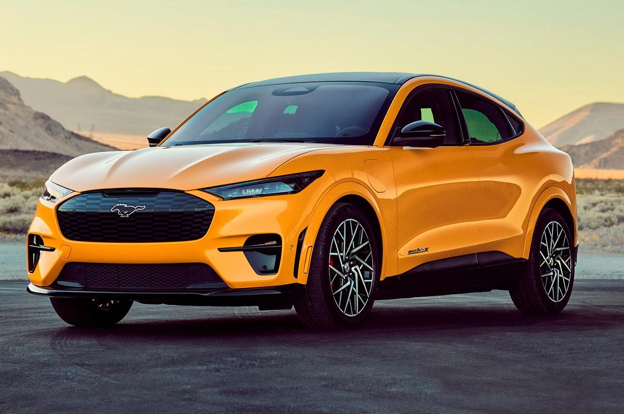 Электро-кроссоверу Ford Mustang Mach-E GT добавили мощности