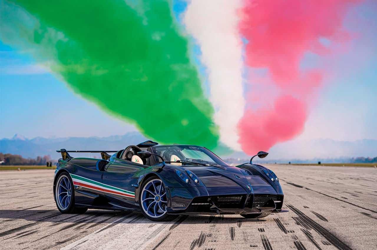 Pagani посвятила Huayra пилотажной группе ВВС Италии | фото