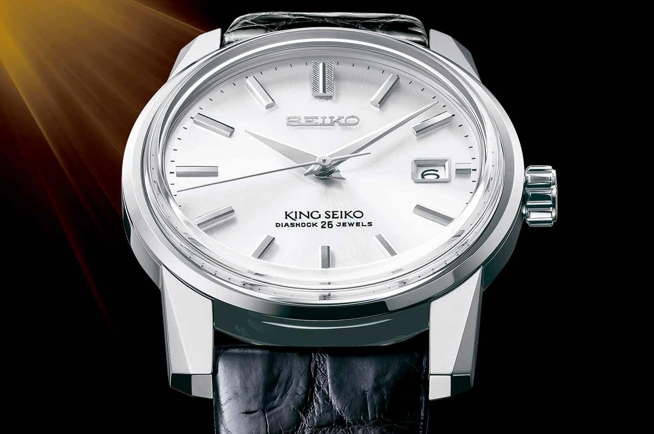 Seiko к 140-летию выпускает юбилейные часы серии King Seiko