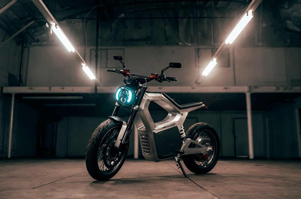 Вышел бюджетный электромотоцикл SONDORS Metacycle | фото