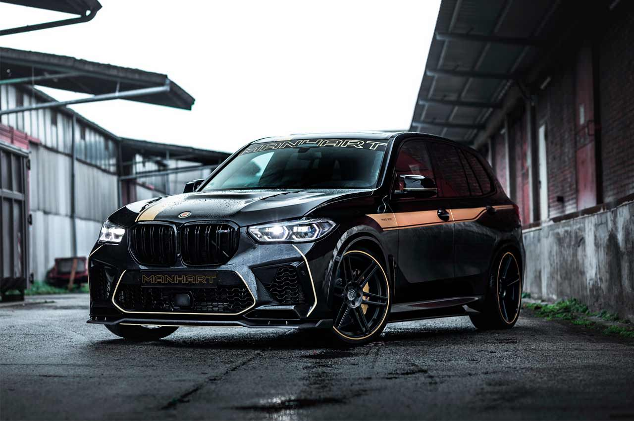 Вышел зверь-тюнинг BMW X5 M Competition от Manhart | фото