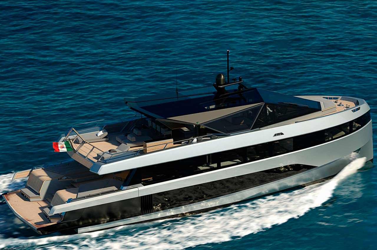WHY200: компактная яхта с комфортом суперъяхты от Wally | фото