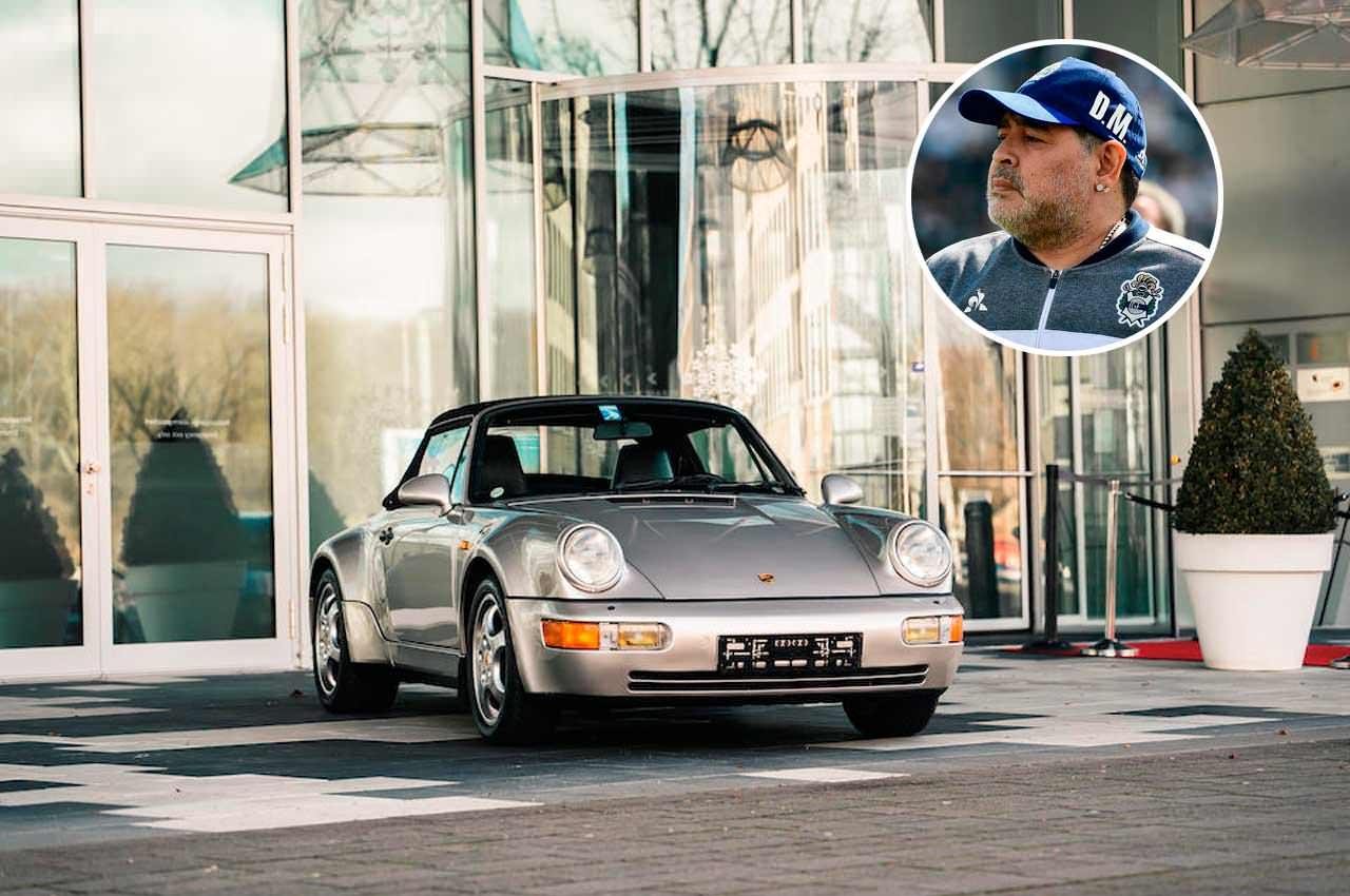 Автомобиль Диего Марадонны уйдёт с молотка | фото и цена