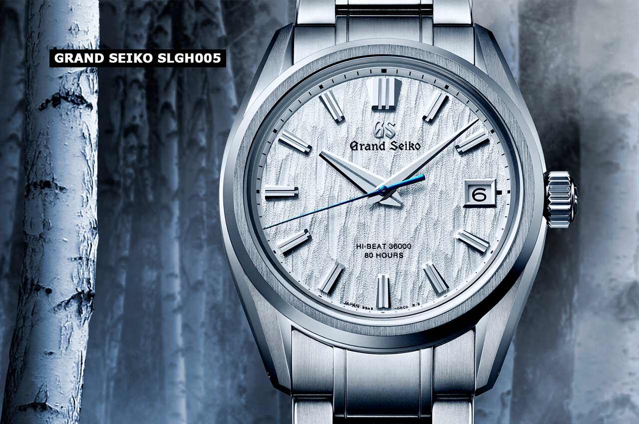 Вышли часы Grand Seiko SLGH005: вдохновлены корой берёзы