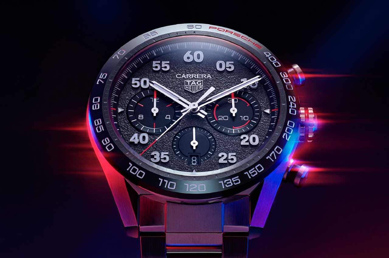 Porsche и TAG Heuer назвали эксклюзивные часы именем Carrera