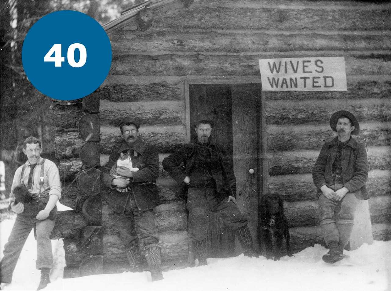 Дроворуби в пошуках жінок із Монтани