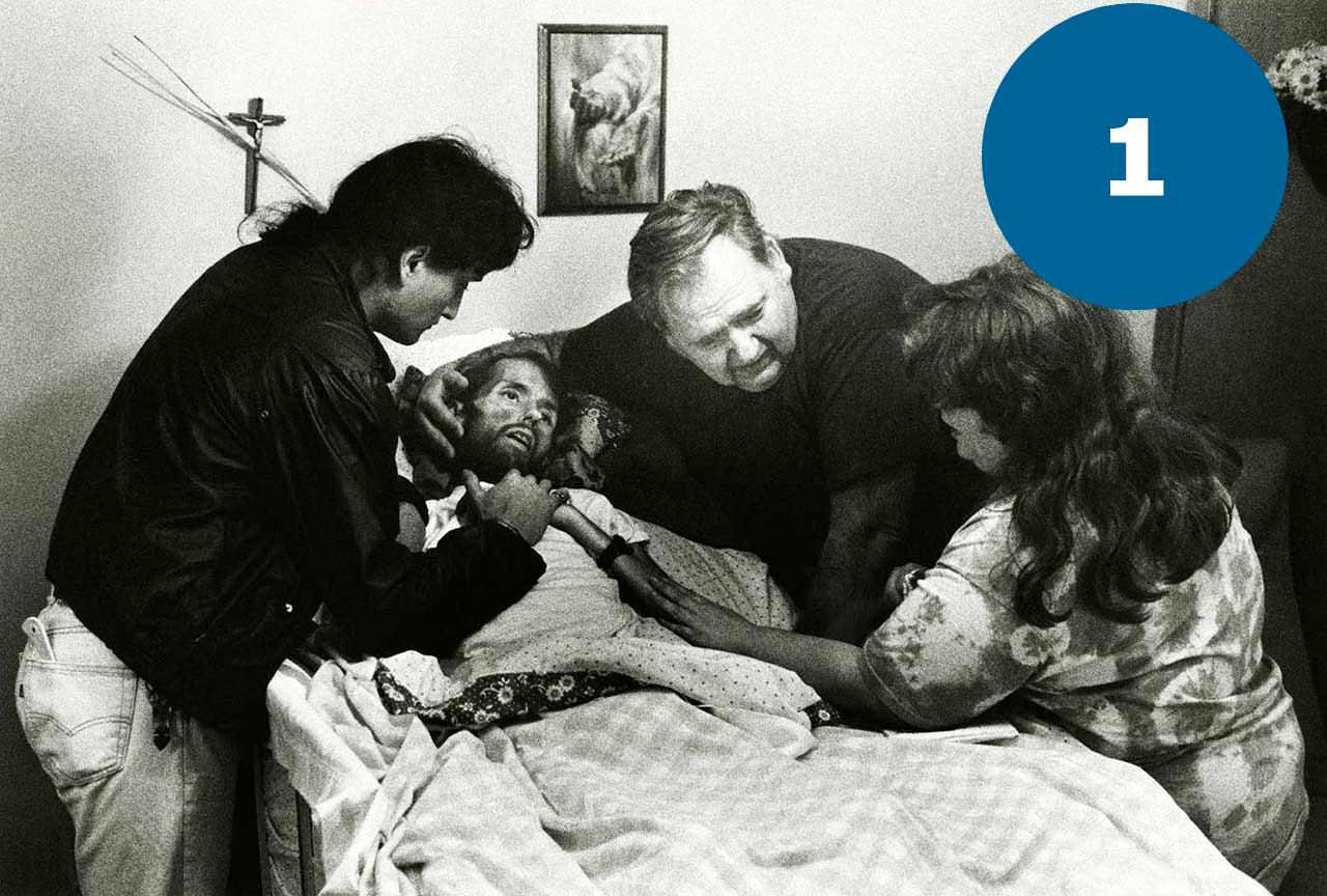 Фото хрового СНІДом перед смертю