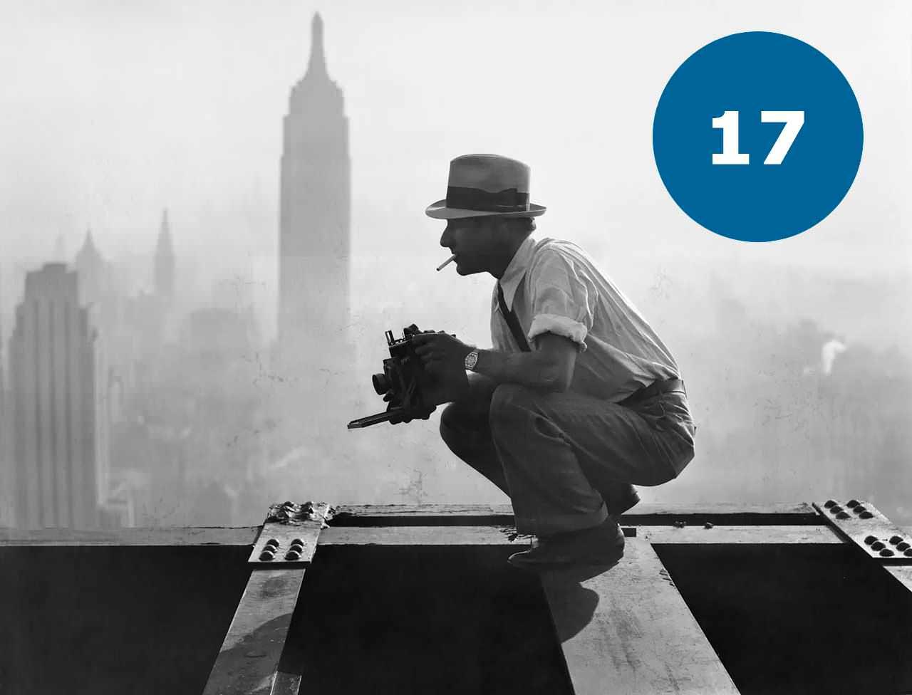 Фотограф на 69-му поверсі без страховки