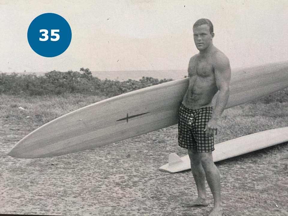 Легенда серфінгу із 1950-х