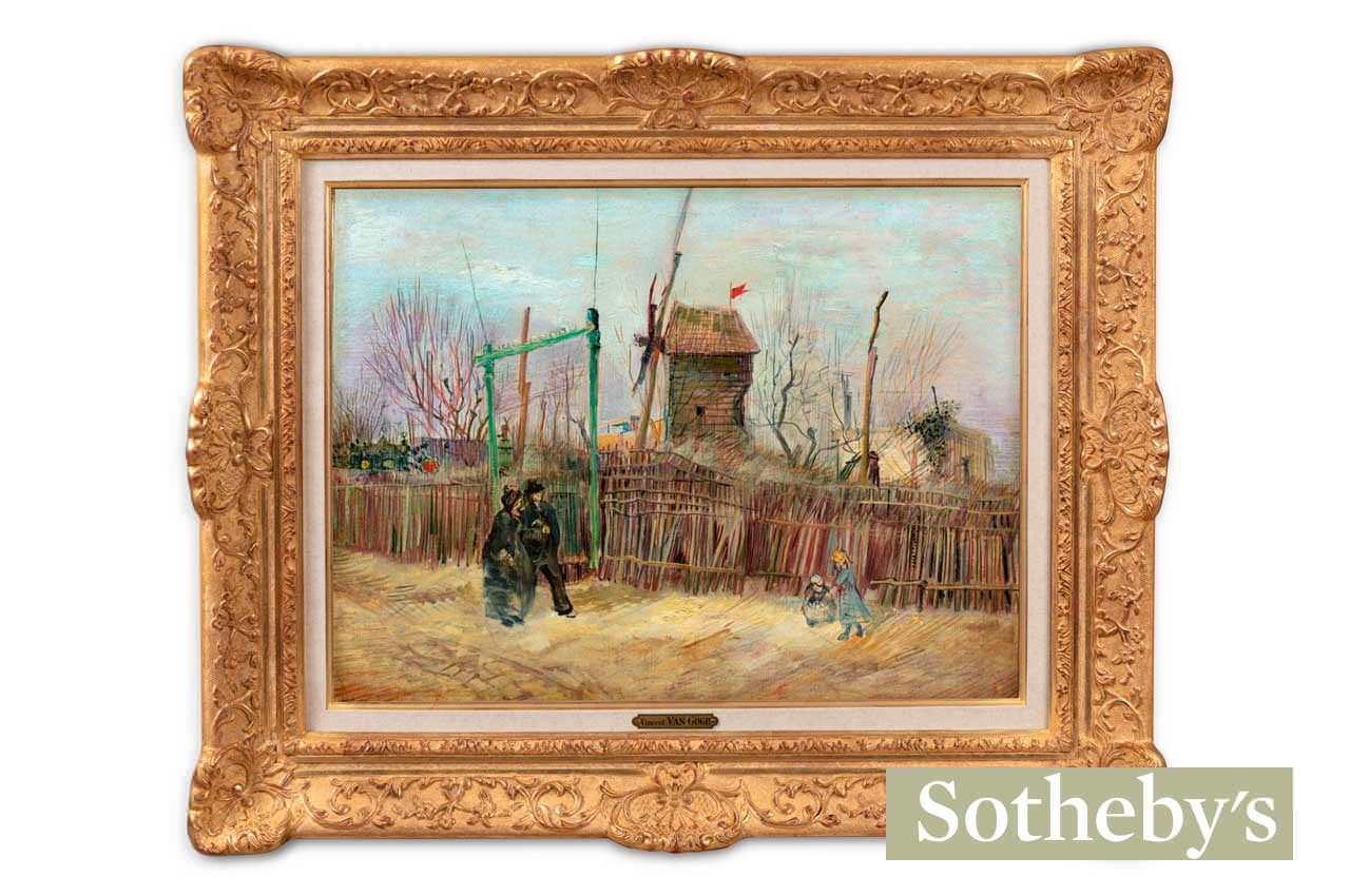 Неизвестная картина Ван Гога уйдёт с молотка за $8 млн