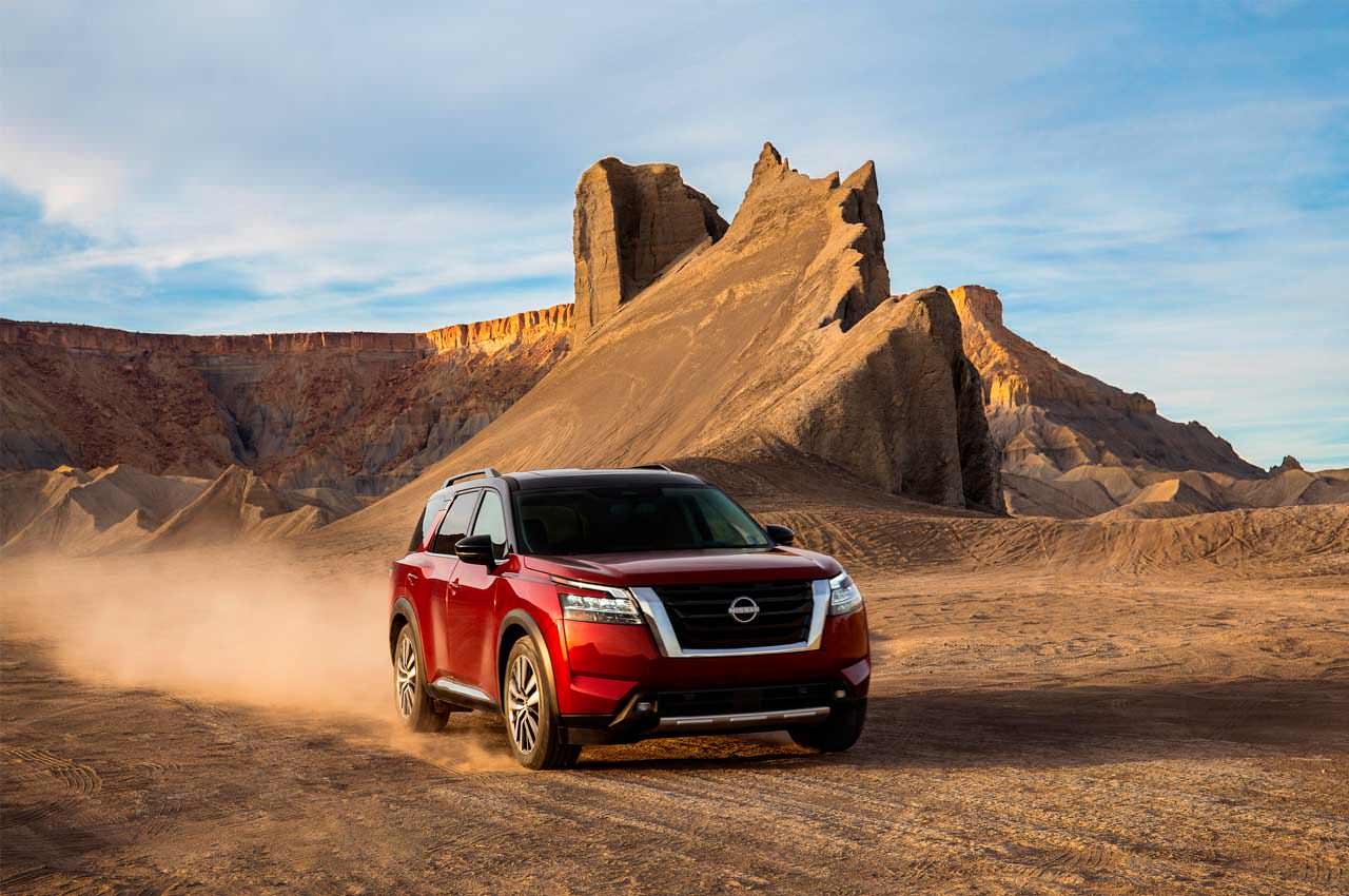 Вышел Nissan Pathfinder пятого поколения. Инфо, фото