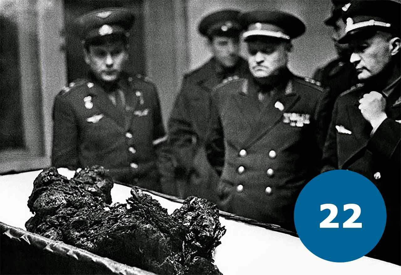 Рештки космонавта Володимира Комарова