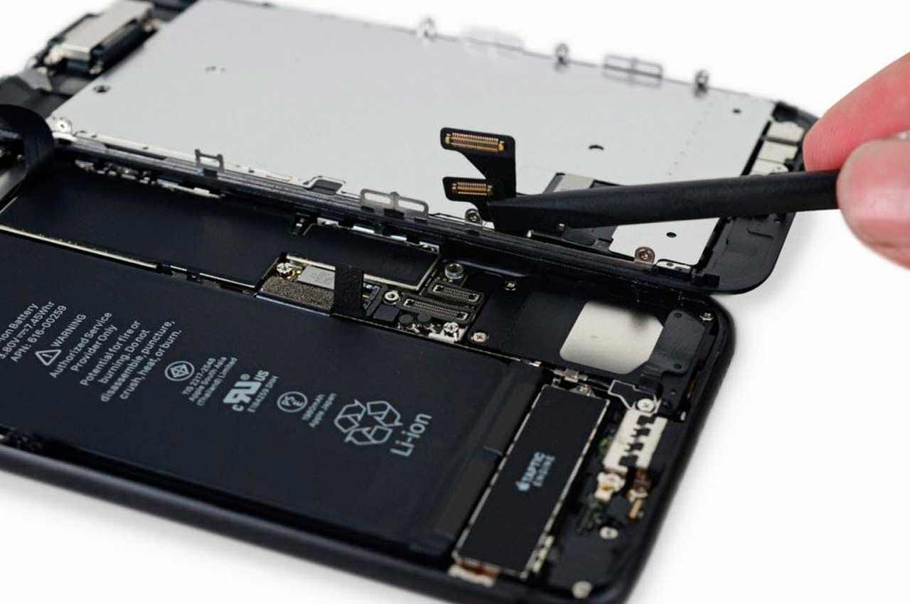 Особенности ремонта iРhone 7