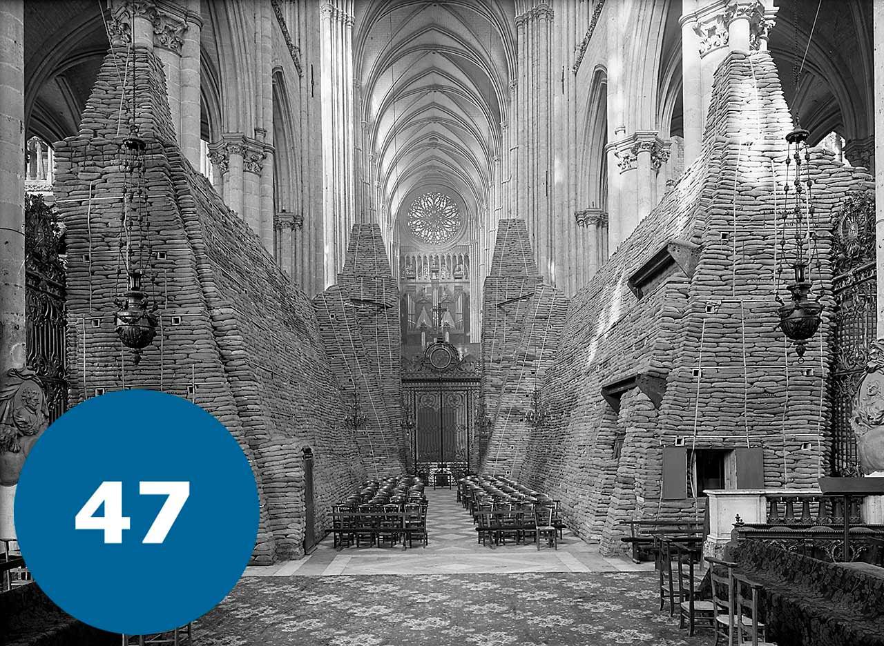 Собор Ам'єнської Богоматері в часи Другої Світової Війни