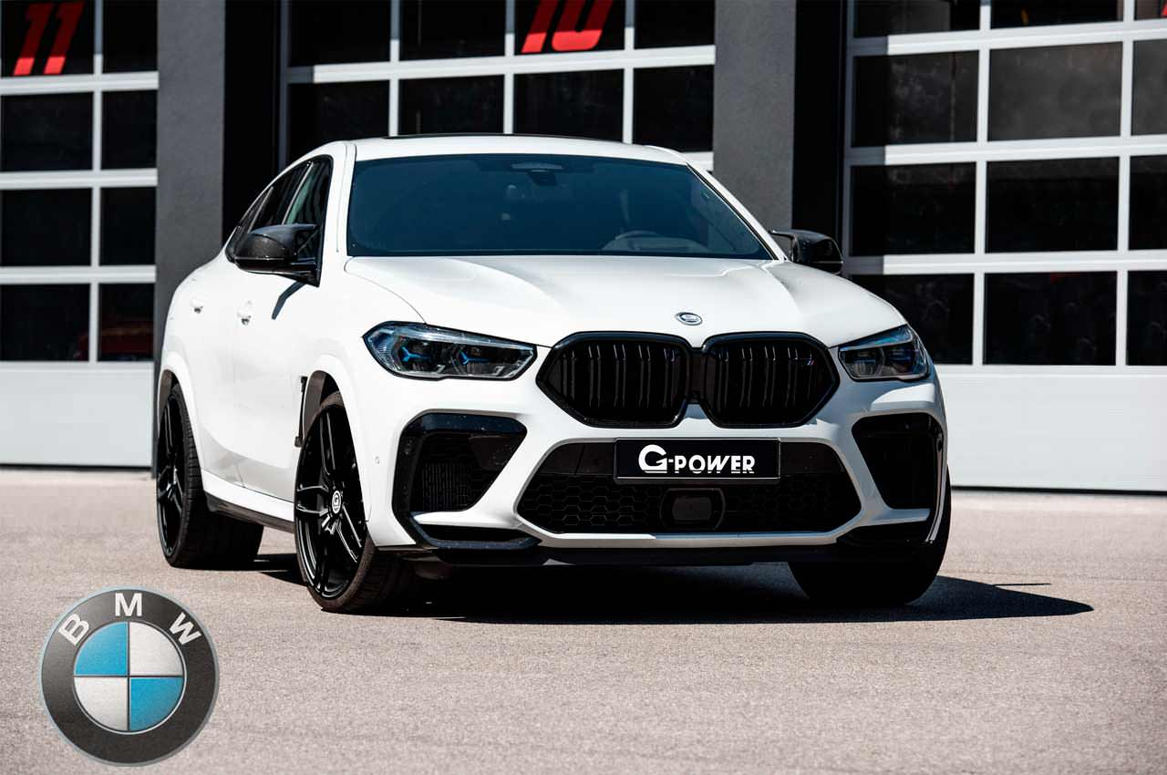 Создан супер-SUV из BMW X6 M Competition от G-Power | фото