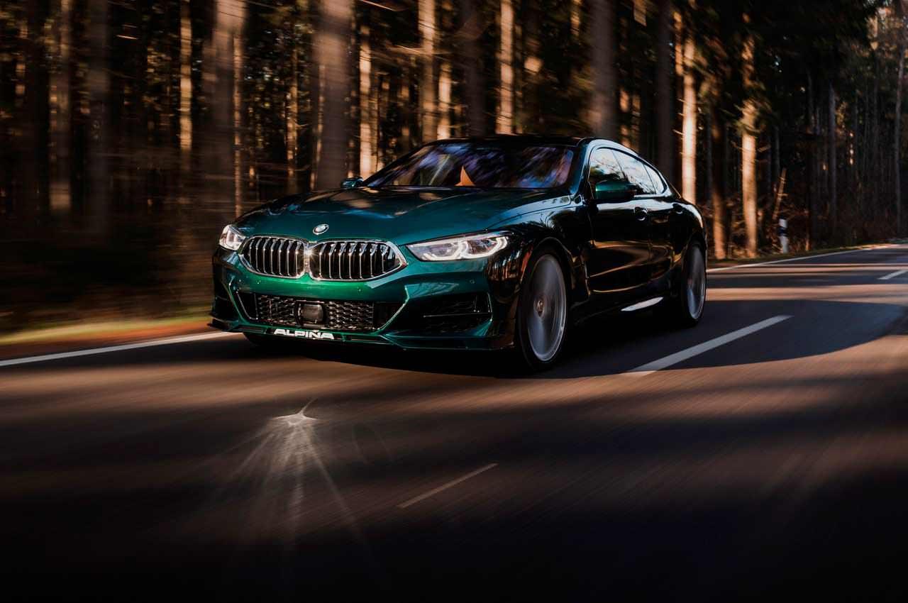 Новая BMW Alpina B8 Gran Coupe показана официально | фото