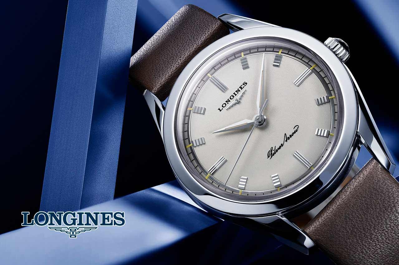 Longines вернулся в часах Silver Arrow к дизайну 50-х