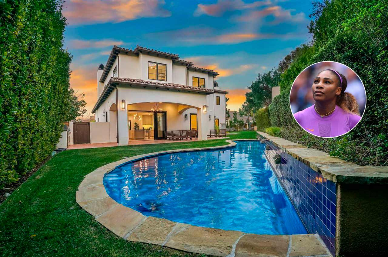 Серена Уильямс продаёт дом в Беверли-Хиллз за $7,49 млн