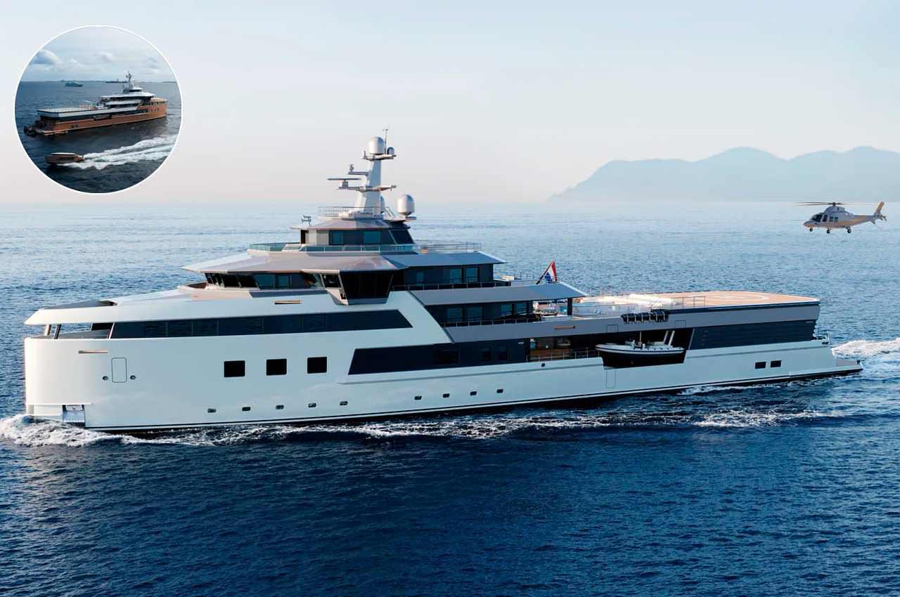 Damen Yachting показал экспедиционную яхту SeaXplorer 77