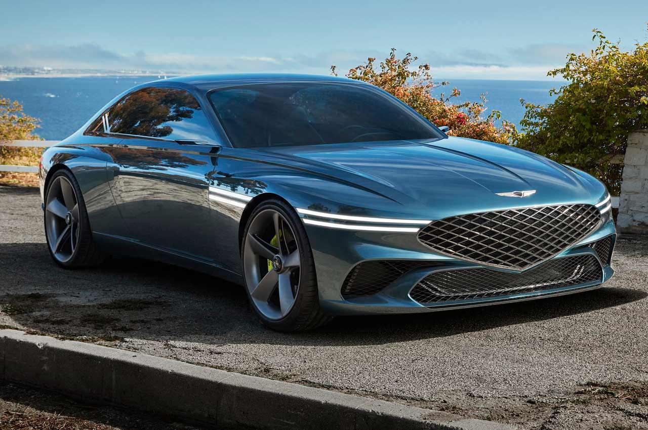 Genesis X Coupe показал дизайн будущего и очень хорош собой