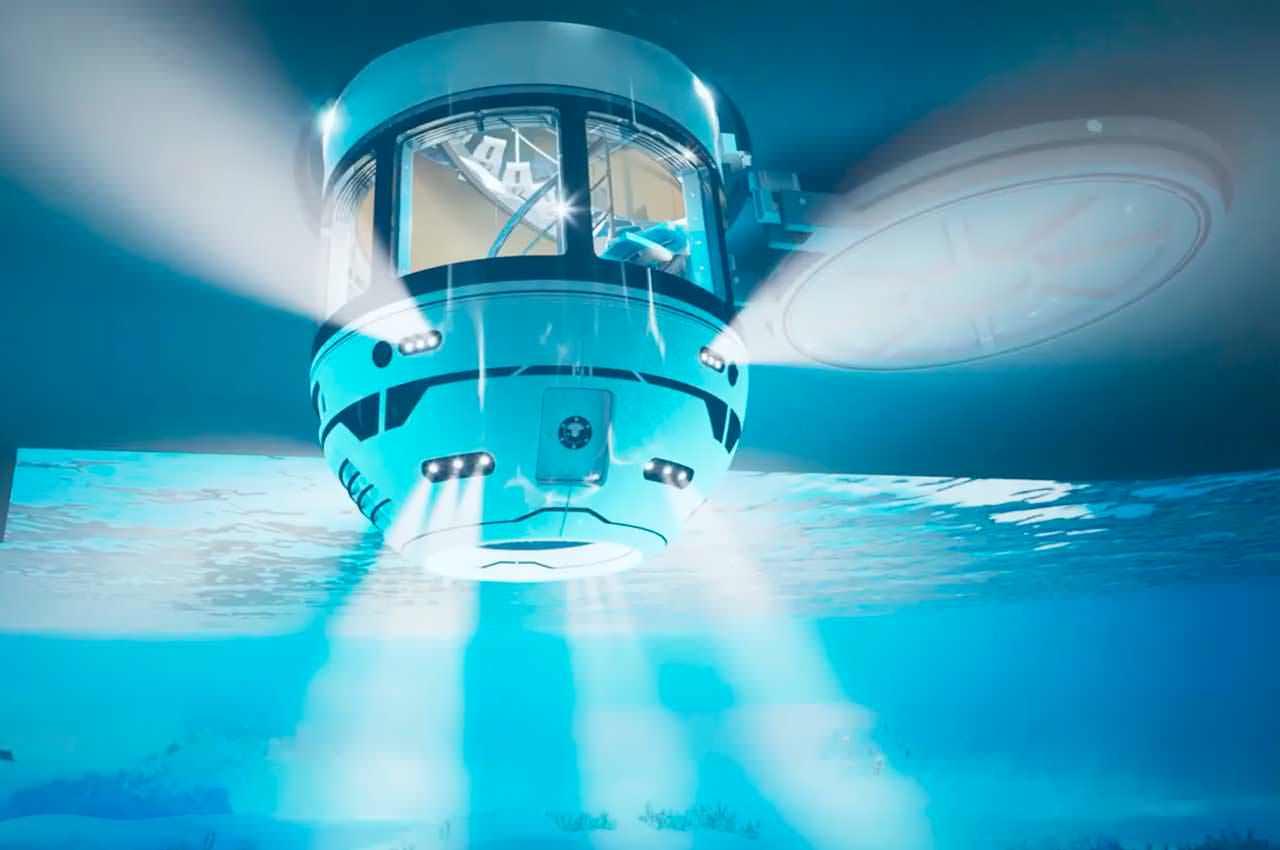 Hydrosphere: усложнение для яхт вместо компактной субмарины