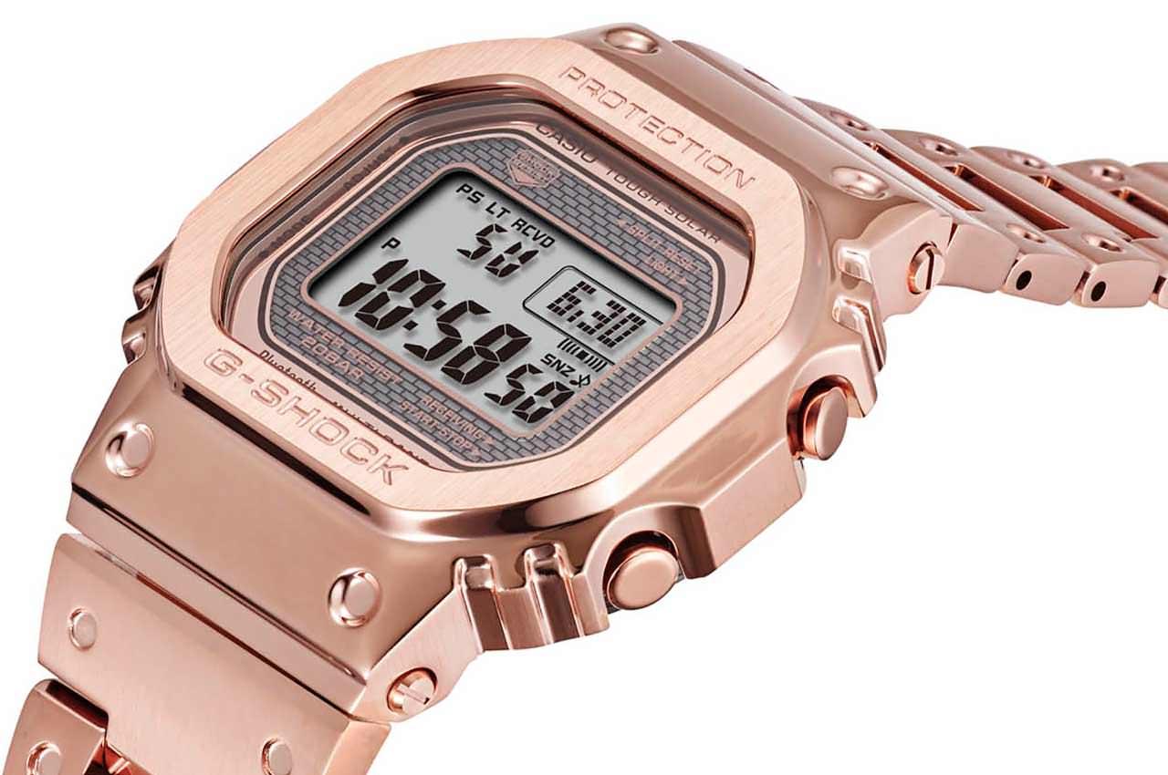 Casio выпустил классические часы «Монтана» в золоте за $600