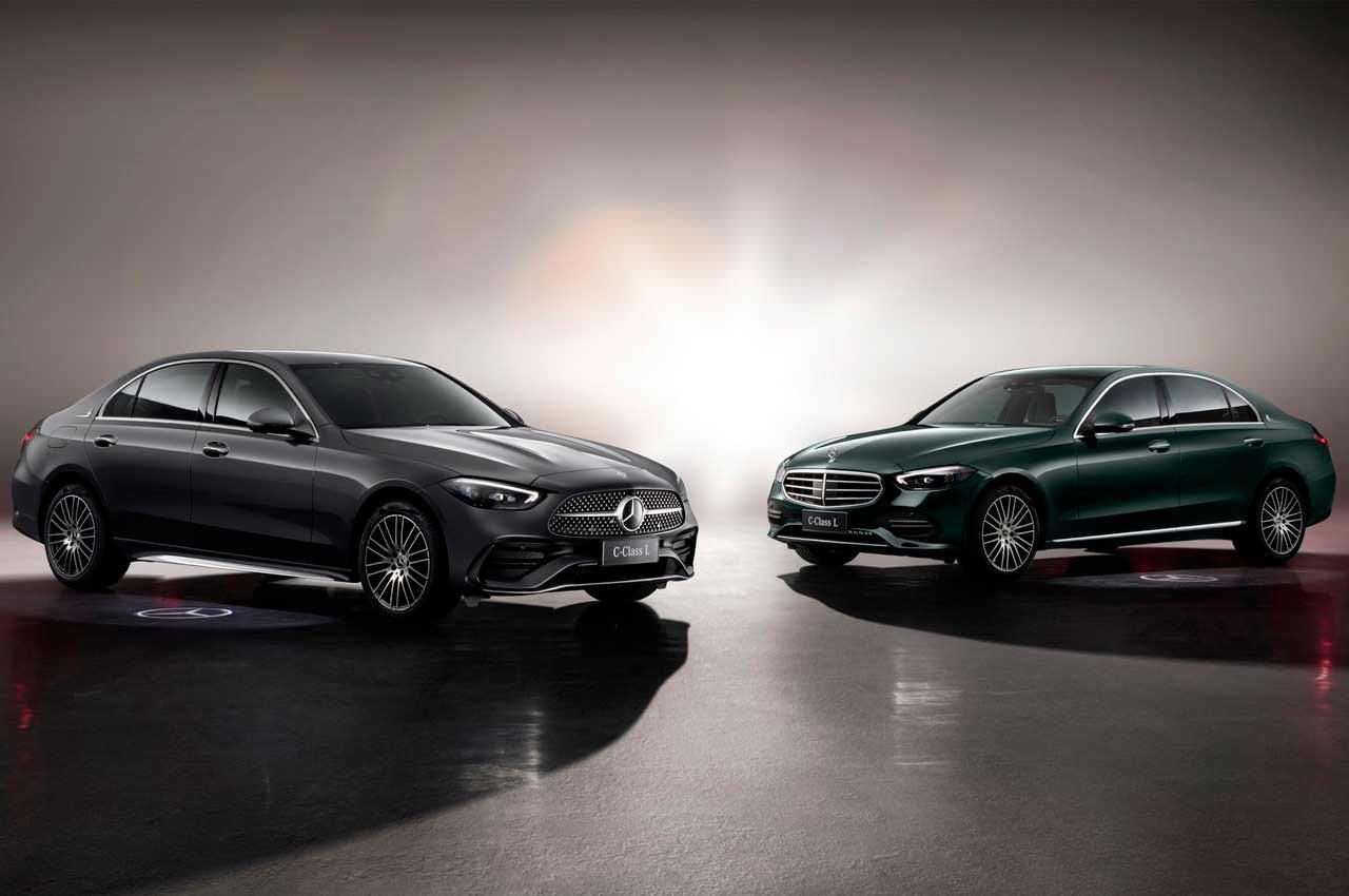 Новый Mercedes-Benz C-Class L растянули в лимузин для Китая