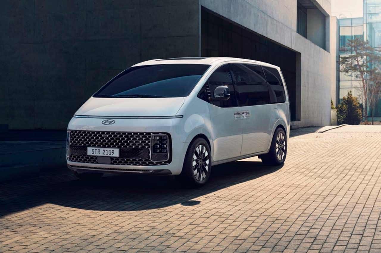 Hyundai представила крутой минивэн Staria: ответ Multivan