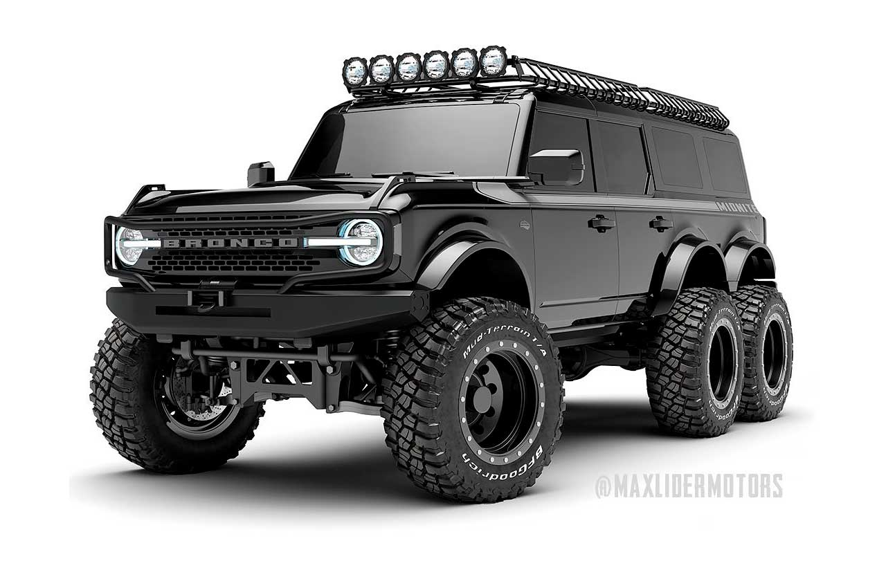 Трёхосный Ford Bronco построят эксклюзивно за $399 000 | фото