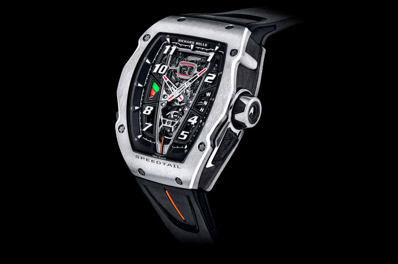 Richard Mille сделал гипер-часы за миллион долларов