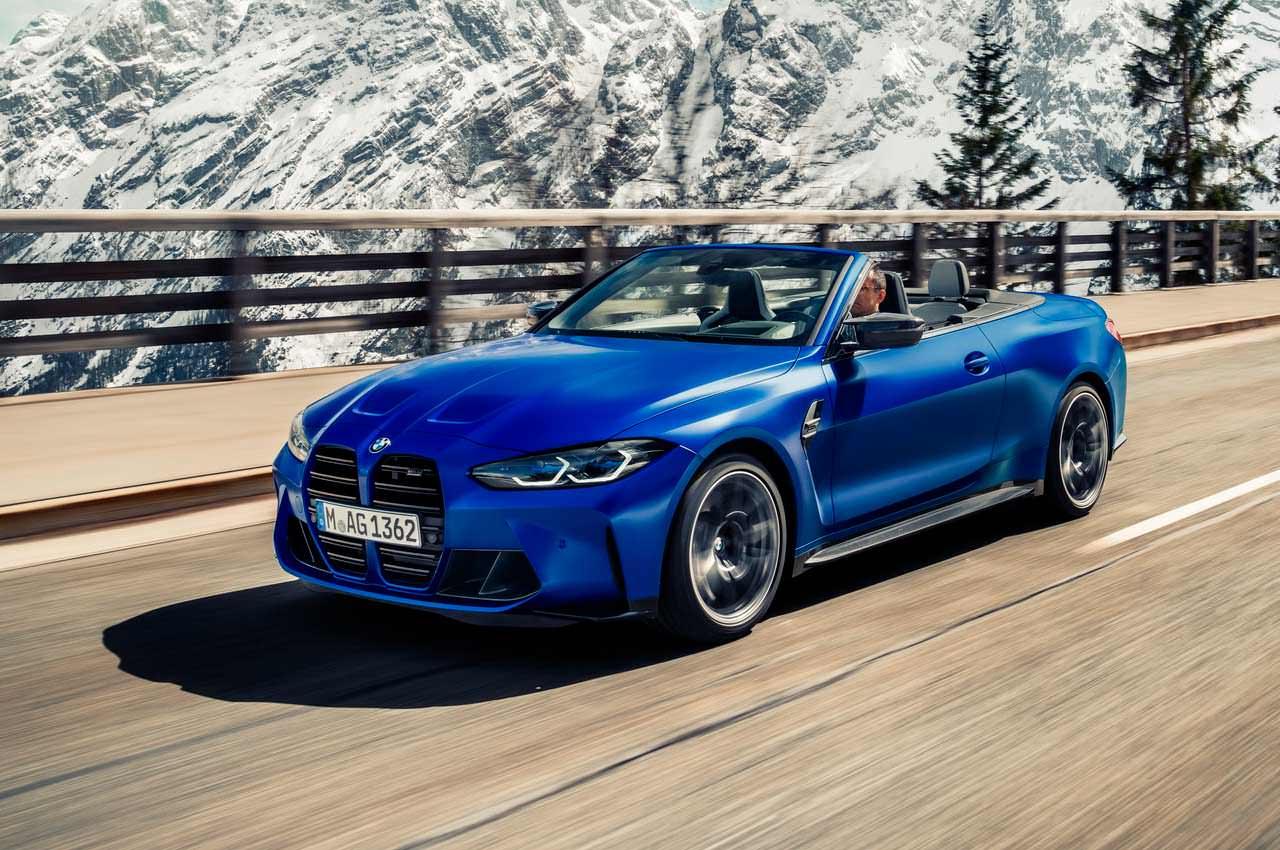 Вышел экстремальный кабриолет BMW M4 Competition Convertible