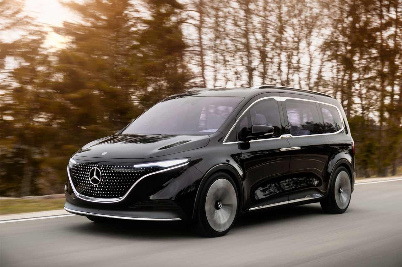Mercedes EQT задал стандарт люксовому электро-вэну будущего