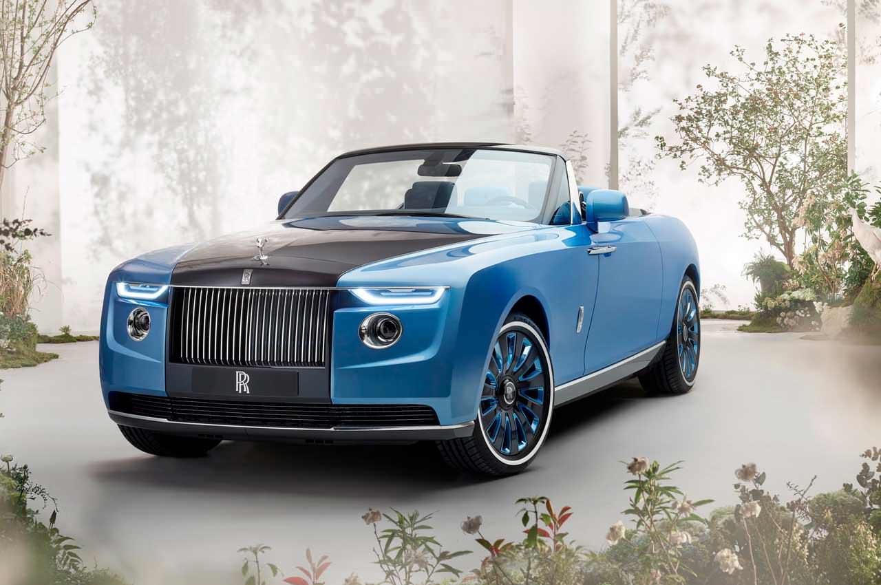 Rolls-Royce сделал кабриолет Boat Tail за $28 млн. Рекорд