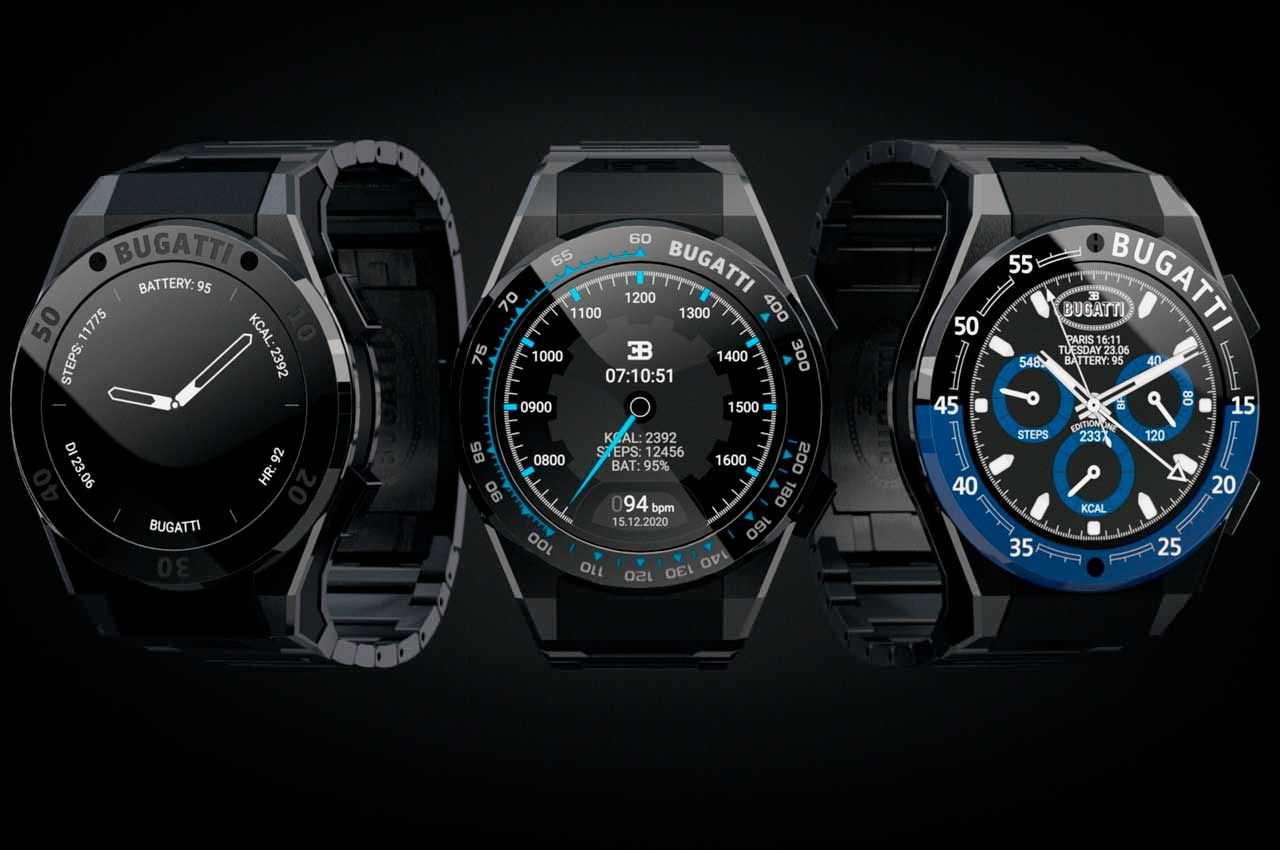 Bugatti выпустила смарт-часы, которые... можно купить