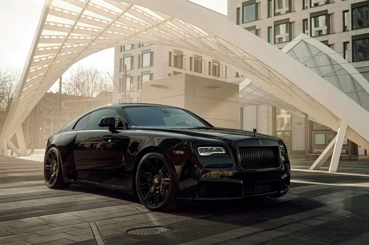 Тюнинг Rolls-Royce Wraith от Spofec: почти автомобиль Бэтмена