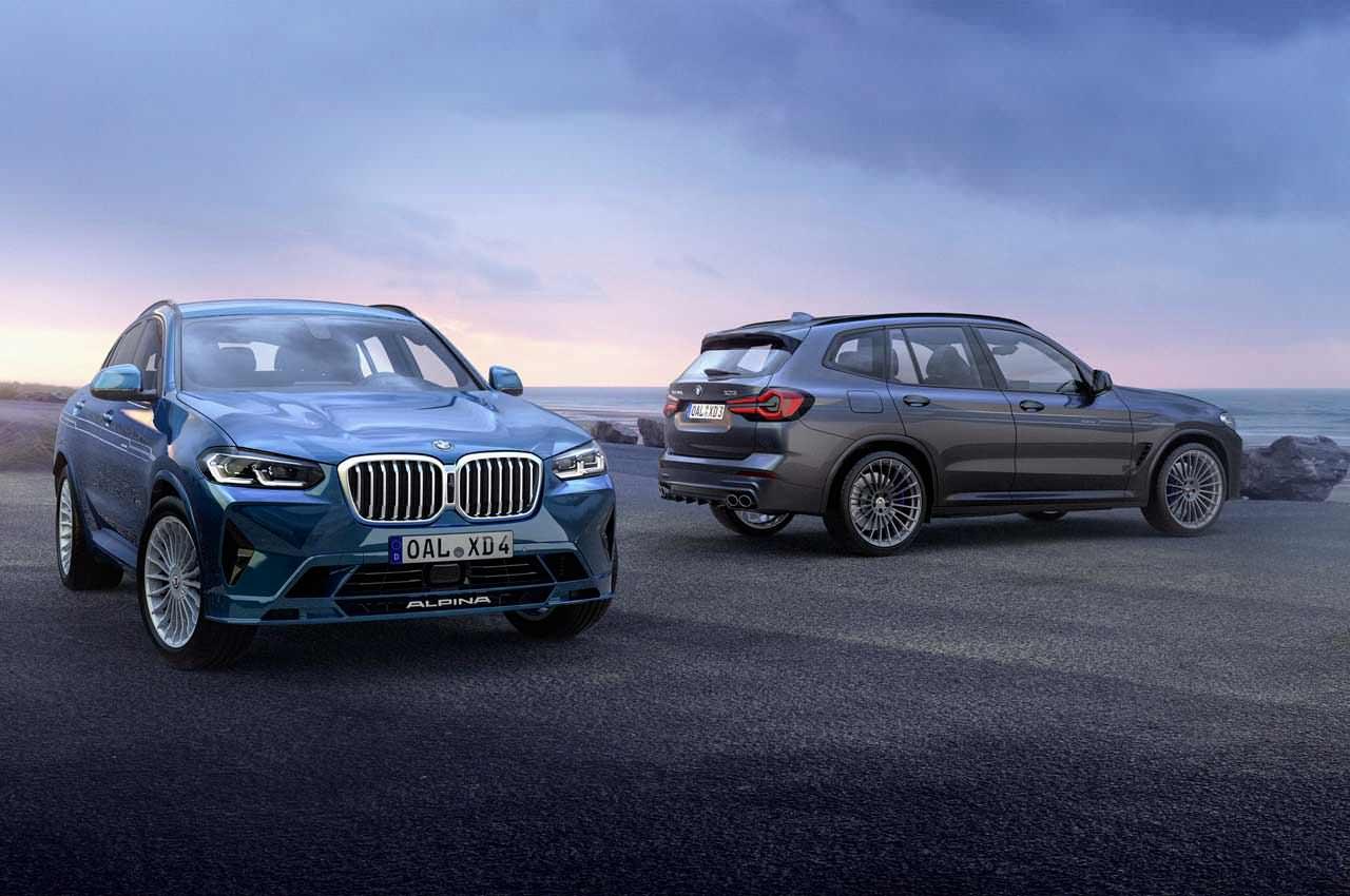 Обновлённые Alpina BMW XD3 и XD4 получили по четыре турбины