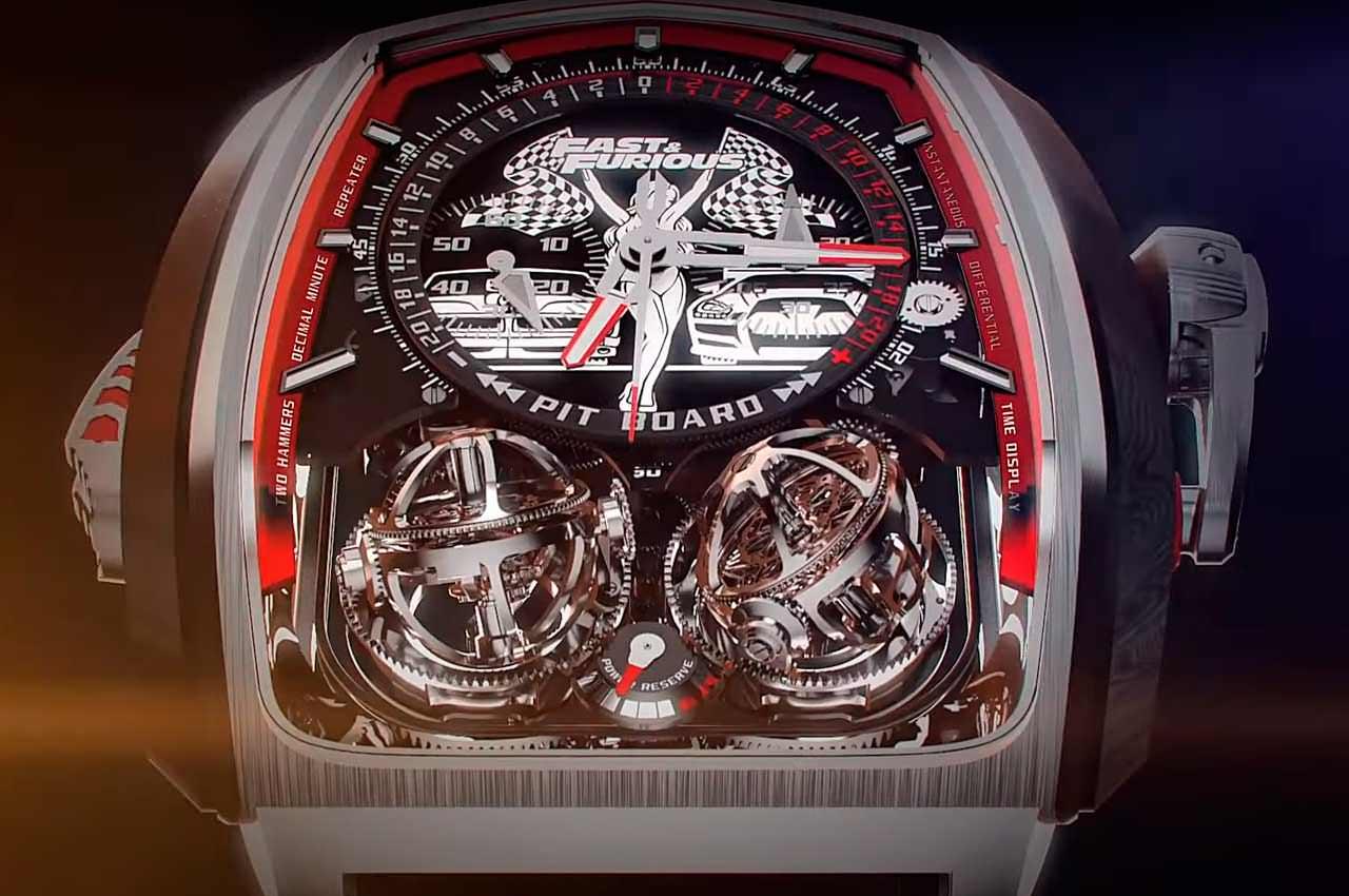 Jacob & Co. сделал часы в честь «Форсажа» за $580 000