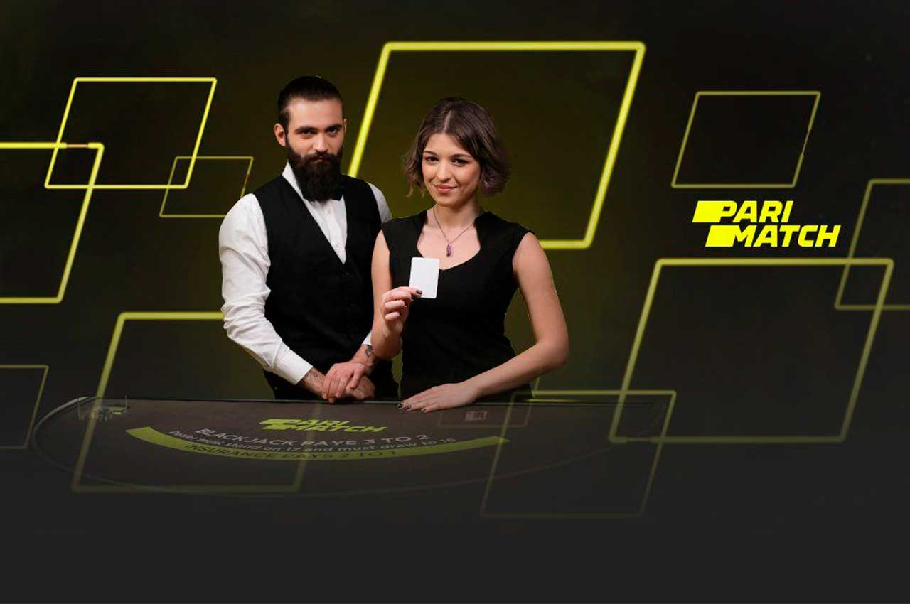 Игры с живым крупье в онлайн-казино Париматч