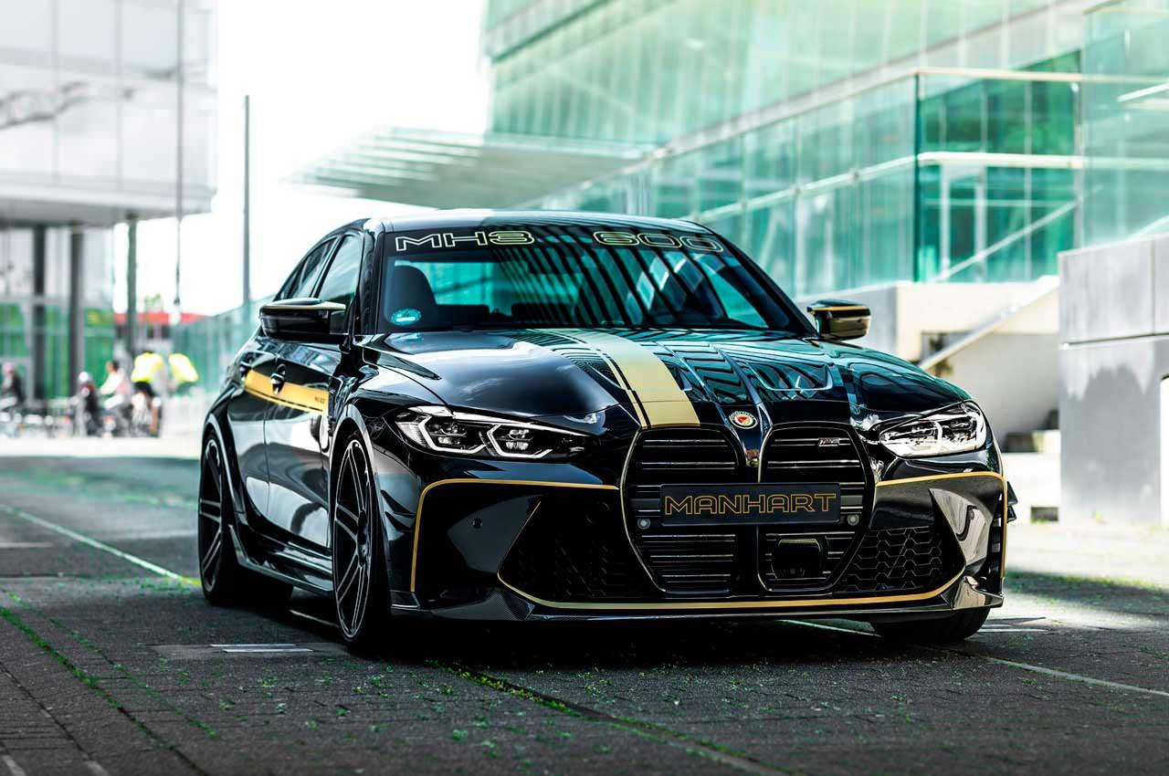 BMW M3 Competition почувствовала себя суперкаром в тюнинге Manhart