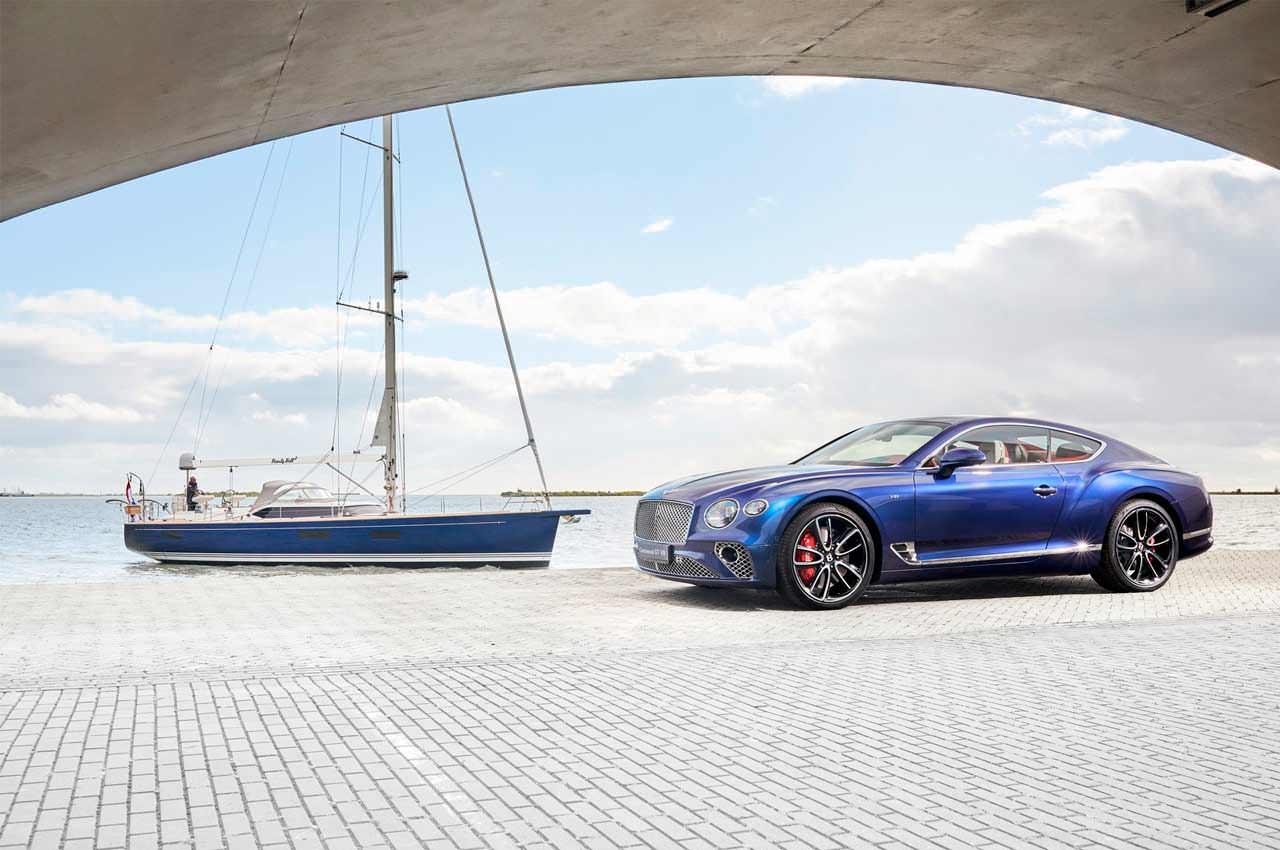 Bentley помогла сделать яхту в стиле Continental GT Coupe