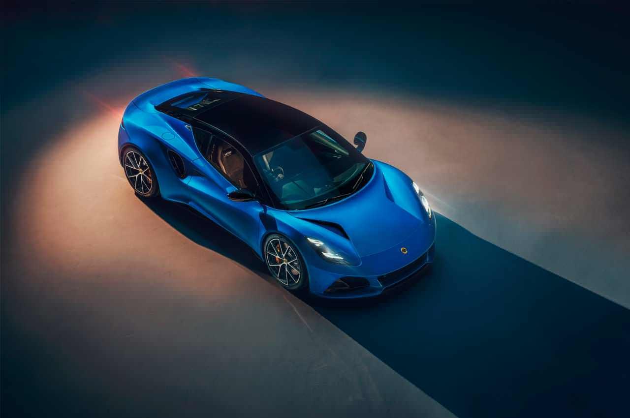 Lotus прощается с ДВС выпустив модель Emira