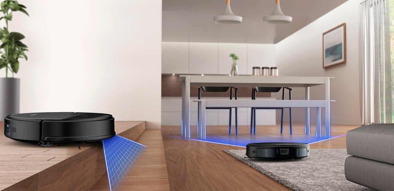 SAMSUNG VR05R5050WK/EV — недорогой робот-пылесос известного бренда