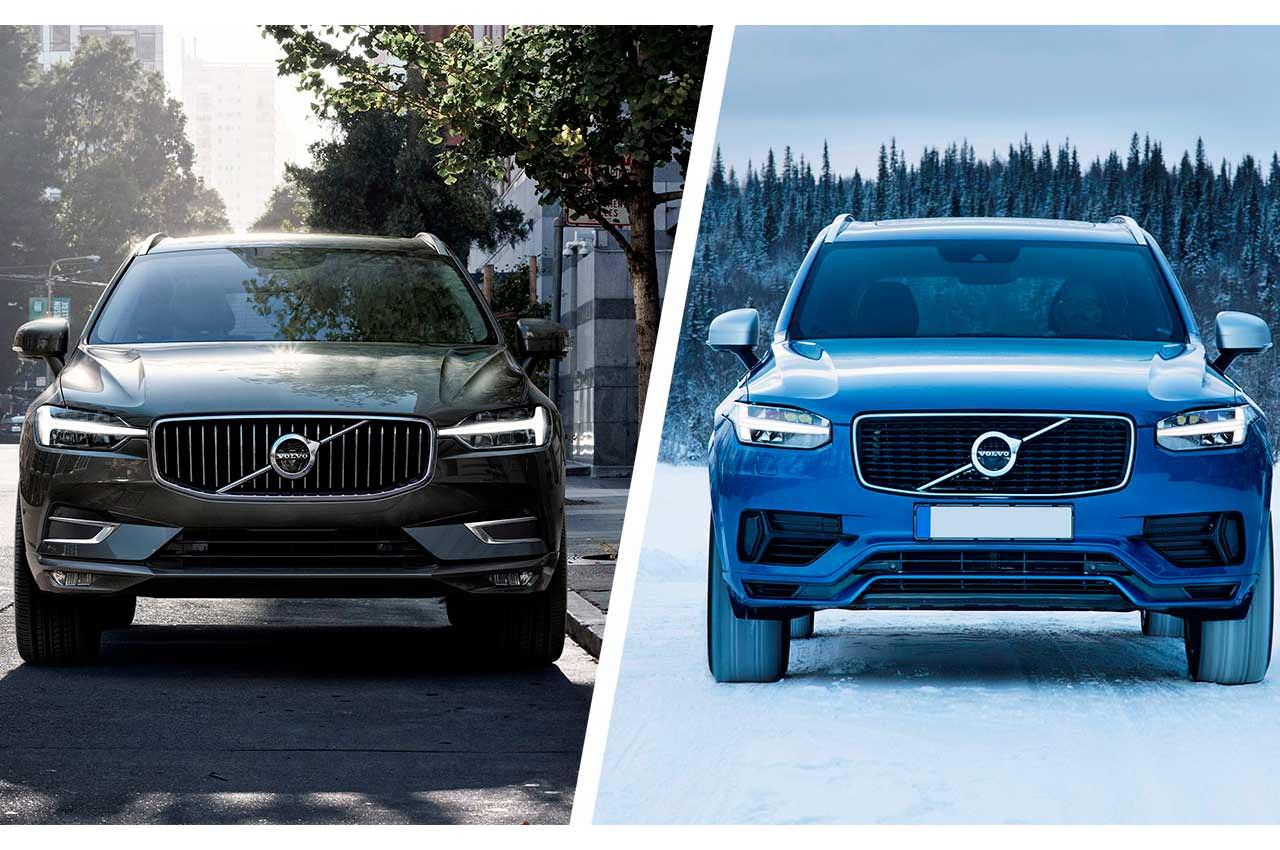 Сравнение Volvo XC90 и XC60, в чём разница?